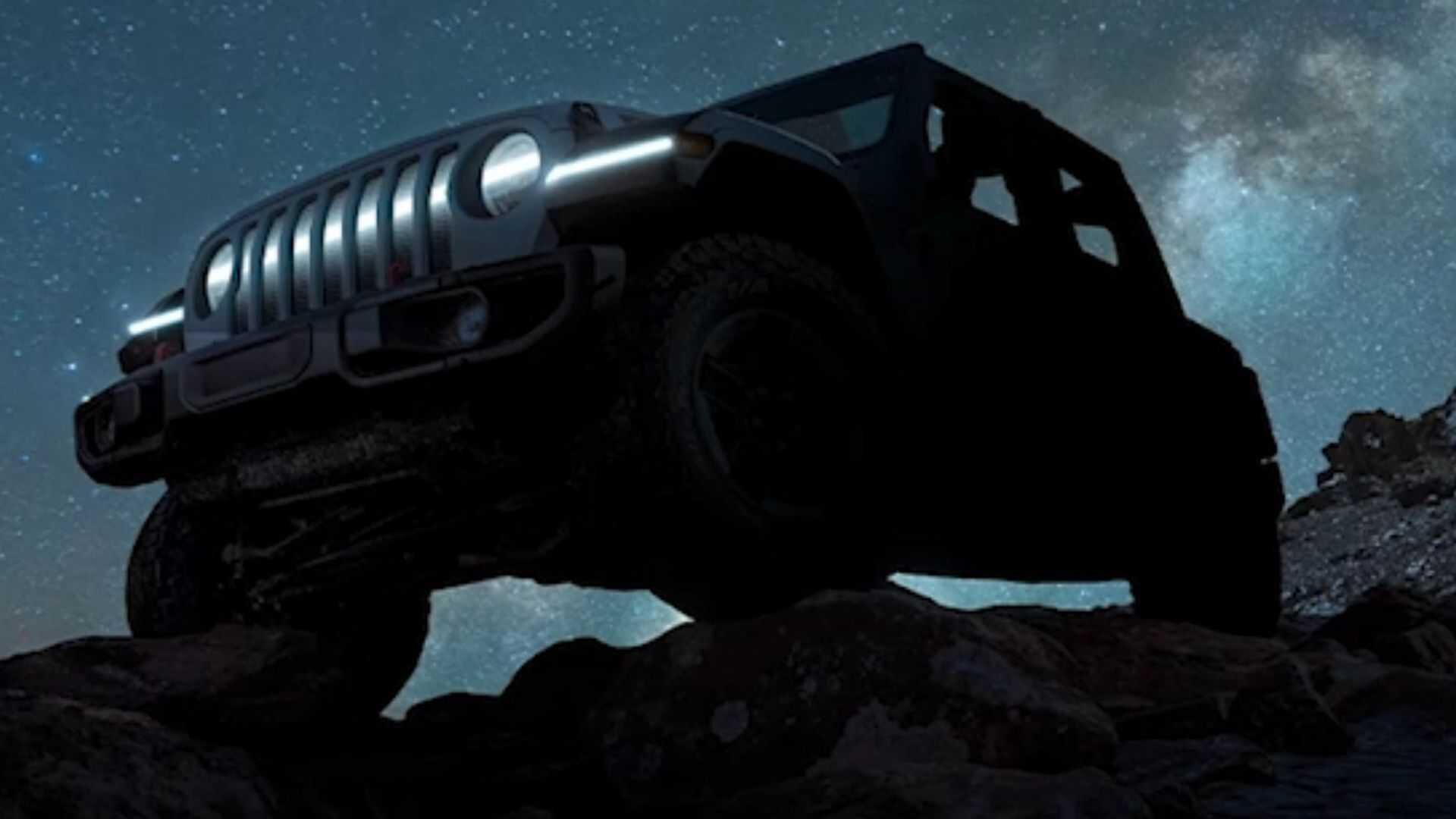 Jeep Wrangler SUV'nin elektrikli versiyonunu duyurdu