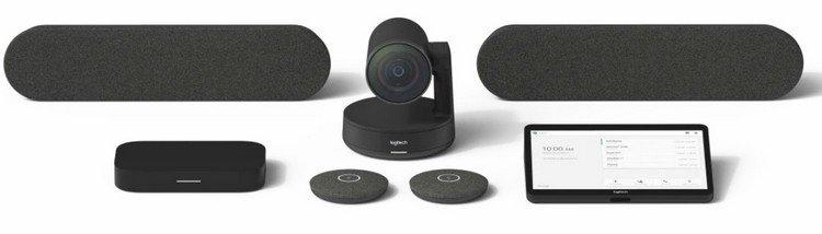 Logitech Room Solutions Video Konferans Sistemleri Artık Google Meet Desteği ile Kullanılabilir