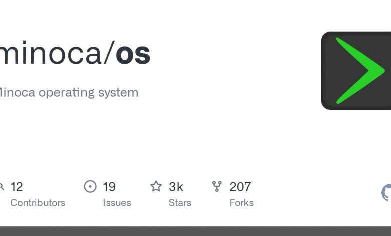 Minoca OS İşletim Sistemi ve Özellikleri
